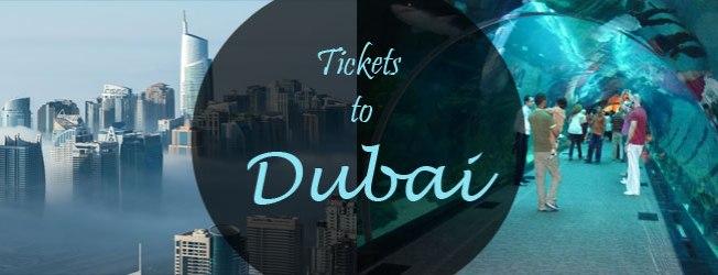 tickets to Dubai