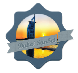 dubai-sunset